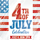 4th of July and BBQ Flyer - GraphicRiver Item for Sale