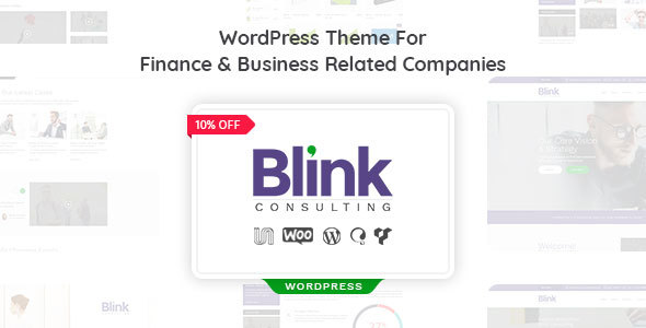 Creative Finance, Consulting and Business Agency WordPress Theme - Business Corporate