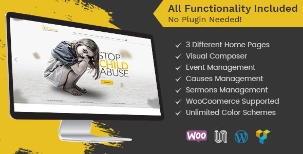 Top 30+ Charity WordPress Themes in [sigma_current_year] 19