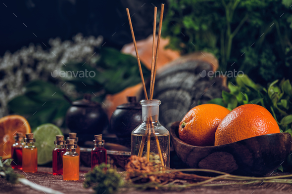 Aromatherapy - Stock Photo - Images