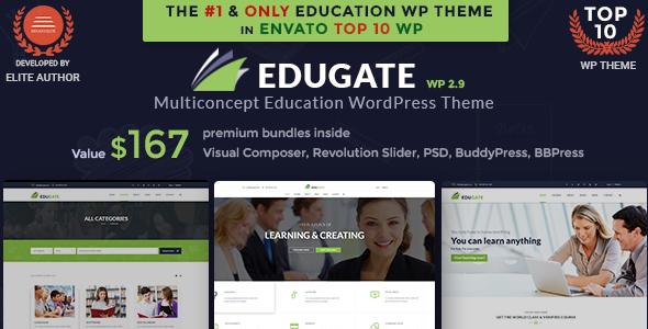 Image of Education WordPress | Edugate Education