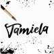 Tamiela - Brush Font - GraphicRiver Item for Sale