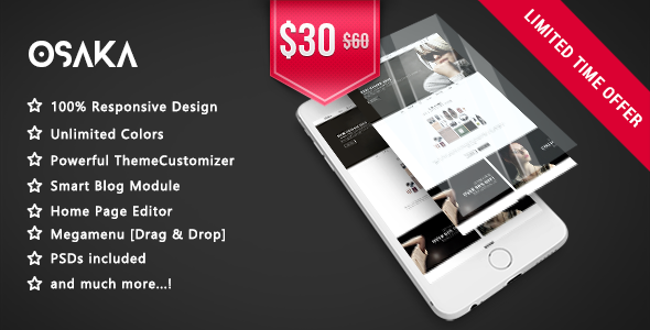 Osaka – Clean & Modern Fashion Responsive Prestashop 1.7 Theme