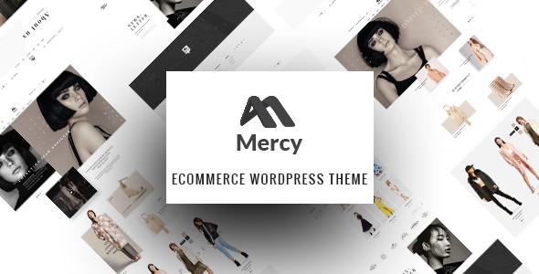 Mercy - Fashion Shop WordPress Theme