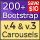 Free Download Bootstrap 4 Carousel Responsive jQuery Plugin Nulled