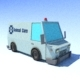 Low Poly Ambulance - 3DOcean Item for Sale