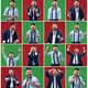 The collage of different human facial expressions, emotions and feelings. - PhotoDune Item for Sale