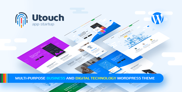 Image of Utouch Startup - Multi-Purpose Business and Digital Technology WordPress Theme