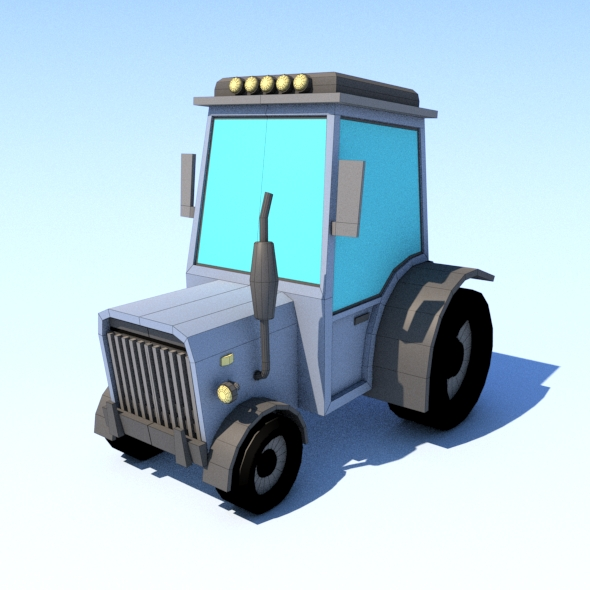 rural vehicle - 3DOcean Item for Sale