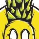 Pineapple Monster - T-Shirt Design - GraphicRiver Item for Sale