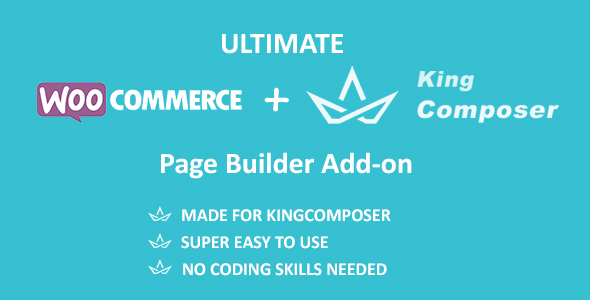 Ultimate Woocommerce Page Templates Builder | KingComposer add-on            Nulled