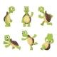 Cartoon Characters of Turtles