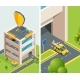 Background Isometric Illustration of Multi Level - GraphicRiver Item for Sale