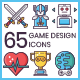Game Design Icons