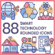 Technology Icons - Rounded