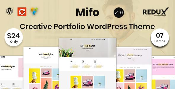 Mifo – Creative Portfolio WordPress Theme