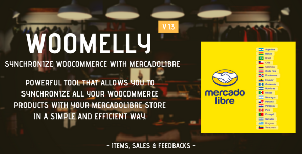 Sincroniza Woocommerce con Mercadolibre: Woomelly - CodeCanyon Item for Sale