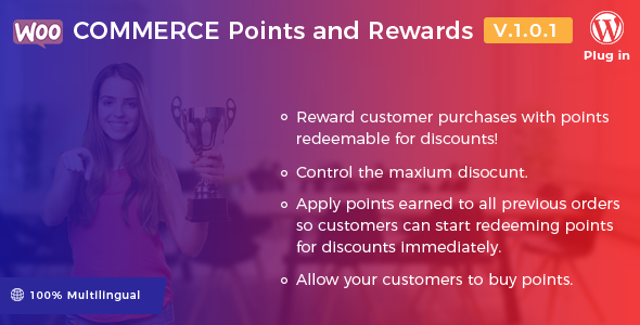 WooCommerce Points and Rewards - WordPress Plugin - CodeCanyon Item for Sale