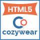 Cozywear- Responsive Multipurpose E-Commerce HTML5 Template