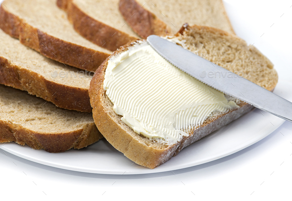 Bread and butter - Stock Photo - Images