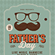 Father's Day Event Flyer - GraphicRiver Item for Sale