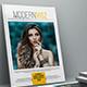 Modern Magazine Template - GraphicRiver Item for Sale