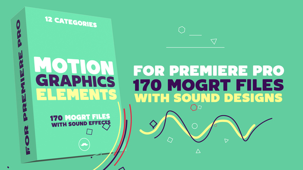 Siêu Vip - Motion Graphics Elements Pack | MOGRT for Premiere Pro