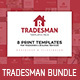 Tradesman Templates Bundle - GraphicRiver Item for Sale
