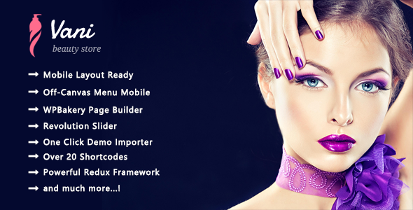 Vani - Health & Beauty Responsive WooCommerce WordPress Theme - WooCommerce eCommerce