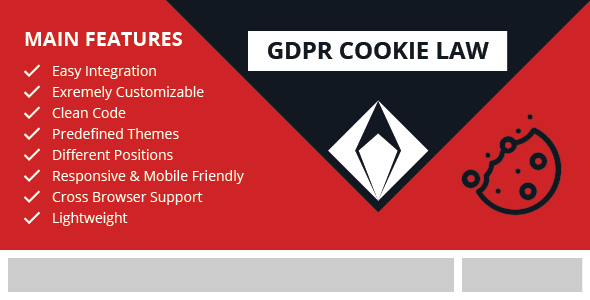 GDPR Cookie Law – jQuery GDPR Compliance Plugin            Nulled