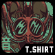 Dark Visions T-Shirt Design - GraphicRiver Item for Sale