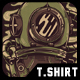 Drown T-Shirt Design - GraphicRiver Item for Sale
