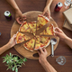 Top view of pizza party - PhotoDune Item for Sale