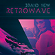 Retrowave Magazine Template Synthwave 24 Pages Indesign - GraphicRiver Item for Sale