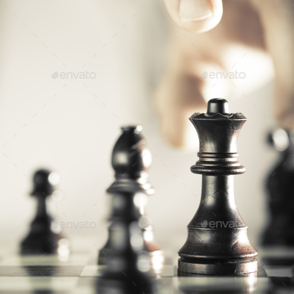 Chess Player - Stock Photo - Images