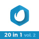 20 in 1 Minimal Logo Pack (vol.2) - VideoHive Item for Sale