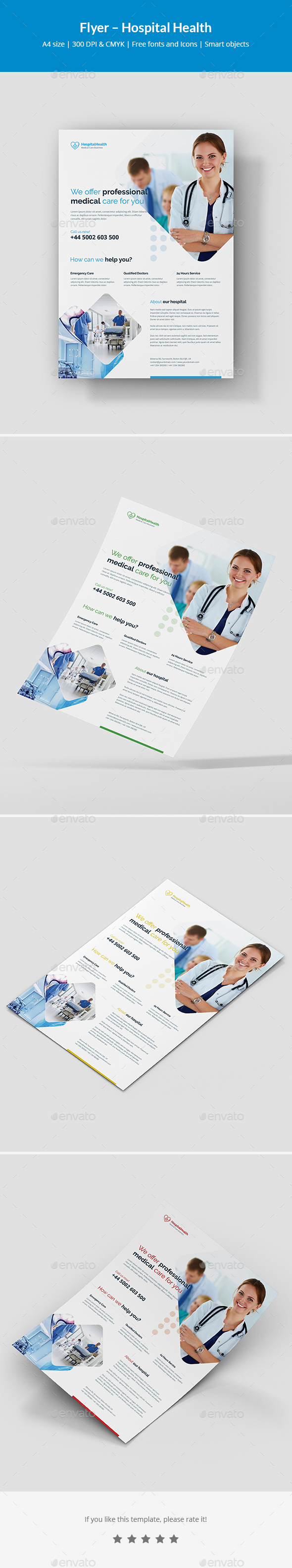 Flyer – Hospital Health - Corporate Flyers