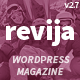 Revija – Blog/Magazine WordPress Theme - ThemeForest Item for Sale