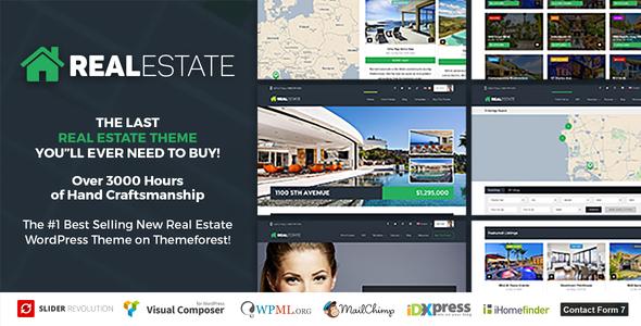 Real Estate 7 - Real Estate WordPress Theme - Real Estate WordPress