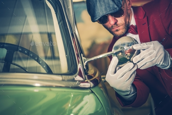 Car Inspection Before Buy - Stock Photo - Images