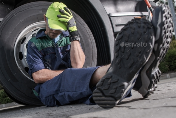 Truck Driver Problem - Stock Photo - Images