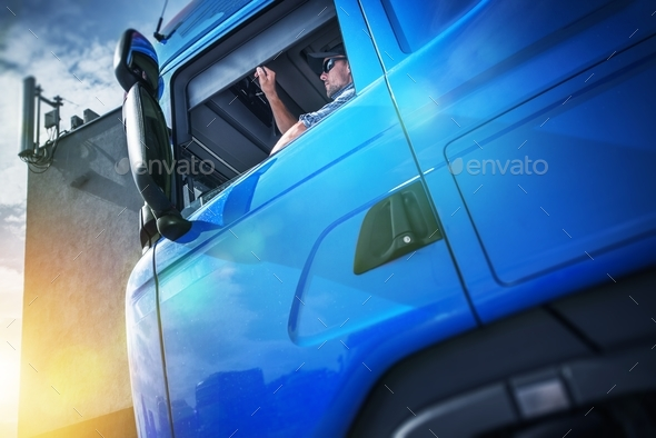 Truck Driver Contract - Stock Photo - Images