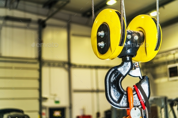 Commercial Warehouse Lift - Stock Photo - Images