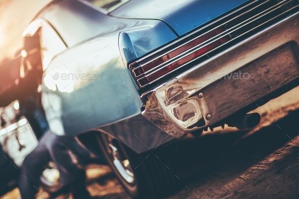 Custom Classic Car - Stock Photo - Images