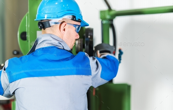 Pro Machinery Operator - Stock Photo - Images