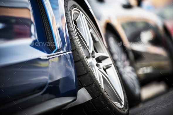 Car Alloy Wheels - Stock Photo - Images
