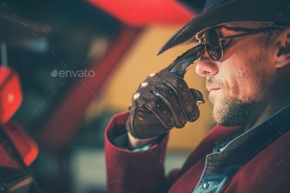 Portrait of the Cowboy - Stock Photo - Images