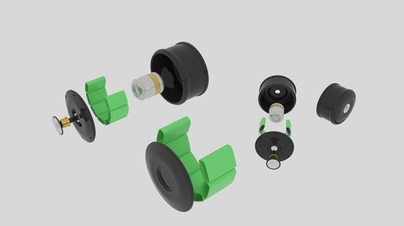 Motor Machine - 3DOcean Item for Sale