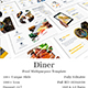 Diner Food Multipupose PowerPoint Template - GraphicRiver Item for Sale
