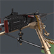 M2 Browning Machine Gun - 3DOcean Item for Sale